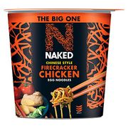 NAKED Noodle Chinese Style Firecracker Chicken Egg Noodles 104g (Pack of 4)