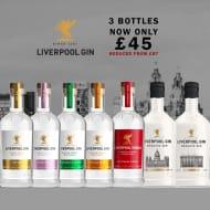 3 Bottles Of Liverpool Gin Or Vodka Only £45 Delivered
