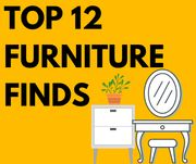 Top 12 Furniture Deals Inc. Dressing Table, Bedside Tables & More from £14.99