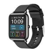 """DEAL STACK - Smart Watch, Fitness Tracker Men Women 1.4"""" Color + £5 Coupon"""