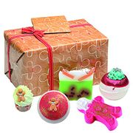 Bomb Cosmetics Bake Me Away Handmade Wrapped Bath & Body Gift Pack 545g