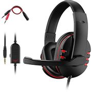 PS4 Headset, Dhaose Gaming Headset for Xbox One S 3.5mm Wired
