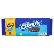 Oreo Chocolate Sandwich Biscuit Twinpack 308g