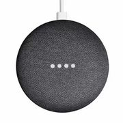 Google Home Mini Smart Speaker - Charcoal - Refurbished