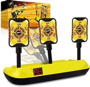 LIGHTNING DEAL - Digital Targets for Shooting Compatible with Nerf Guns
