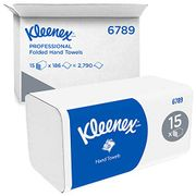 Kleenex Interfold Hand Towels 6789 - 2 Ply v Fold Paper Towels