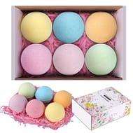 Handmade Bath Bombs Gift Set, 6 Pack