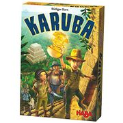 HABA 300932 Karuba -Tile Laying Puzzle Game for the Whole Family