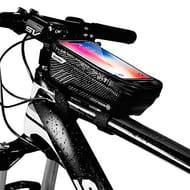 DEAL STACK - Niluoya Bike Phone Mount Bag, Bicycle Waterproof + 5% Coupon