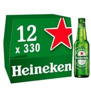 Heineken Lager Beer 12 X 330Ml Bottles