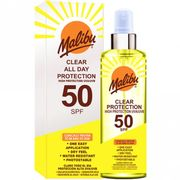 MALIBU All Day Clear Protection Spray SPF50 250ml