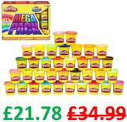 Play-Doh Mega Pack - 36 Play-Doh Cans