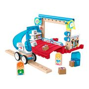 Fisher-Price Wonder Makers Design System Special Delivery Depot - Only £5.33!