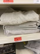 Turkish Dove Grey Bath Towel - Half Price
