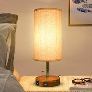 USB Bedside Table Lamp