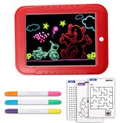 LIUMY 3D 22 PCS Portable Kid's Drawing Board Kit - Only £4.99!