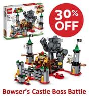 Save £28! LEGO SUPER MARIO - Bowsers Castle Boss Battle (71369)