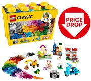 CHEAPEST PRICE THIS YEAR! LEGO CLASSIC Large Creative Brick Box | SAVE £15!