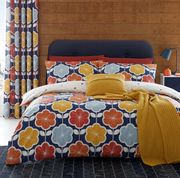 Retro Floral Duvet Cover Set by Catherine Lansfield