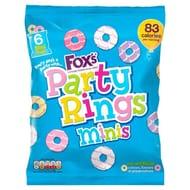 Fox's Mini Party Rings 6pk