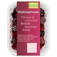 Waitrose British Summer Fruits300g