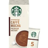 Starbucks Mocha Premium Instant Coffee Sachets 5x22g