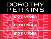 Dorothy Perkins Sale - £10 and Under | Dresses from £3.52!