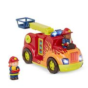 B. Toys - Rrrroll Models Toy Firetruck Movable Parts and for Toddlers 18 Mnths +