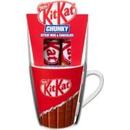 KitKat Chunky Mug & Chocolate Bars 2pk
