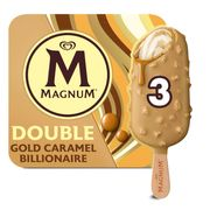 Magnum Double Gold Caramel Billionaire Ice Cream 3x85 Ml