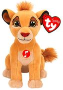 TY41088 Ty King Lion Musical Simba Soft Toy 15 Cm