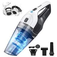 Handheld Vacuum Cordless, 6.5Kpa Powerful Handheld Hoover Vacuum Cleaner,