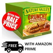 19p each! | 25 Nature Valley Crunchy Canadian Maple Syrup Bars