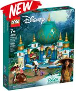 LEGO DISNEY - Raya and the Heart Palace (43181) FREE DELIVERY