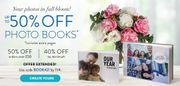50% off Photobooks When You Spend £50