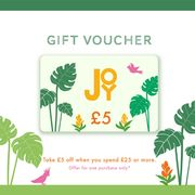 TAKE £5 off YOUR next IN-STORE PURCHASE at JOY