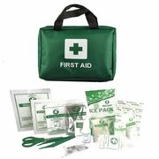 90 Piece First Aid Kit Bag Medical Emergency Kit - Only £4.99!