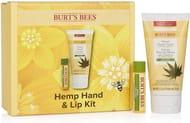 Burt's Bees Hemp Hand and Lip Kit 2 Piece Hydrating Gift Set