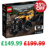 LEGO Technic Control+ 4x4 X-Treme Off-Roader Truck, App Controlled | 42099