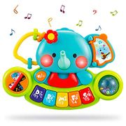 LIGHTNING DEAL - Baby Musical Piano Keyboard Toys for Kids