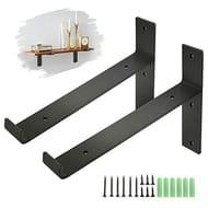 DEAL STACK - Industrial King Do Way Shelf Brackets, 2Pcs (T Lip) + £3 Coupon