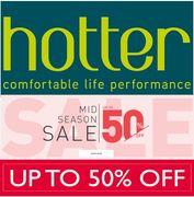 Hotter Shoes - Mid Season Sale - up to 50% OFF