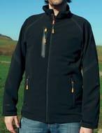 Regatta Mens Headwind X-Pro Softshell Jacket Black Outdoor Workwear 2xl Only