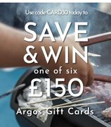30% off Cards & Chance to Win an Argos Gift Card