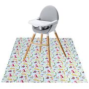 LIGHTNING DEAL - Winthome Highchair Splash Mat for Baby