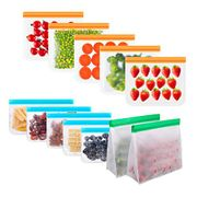 12 Pack Eco Friendly Reusable Freezer Bags - Only £7.99!