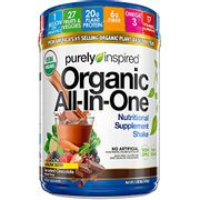 A organic plant based complete Meal Shake chocolate flavoured