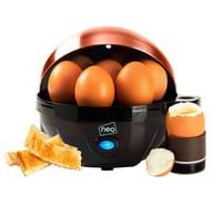 Neo Copper Electric Egg Cooker Boiler Poacher & Steamer - Only £11.99!
