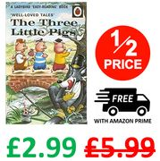 The Three Little Pigs (From 1965!) - Ladybird Easy Reading Hardback