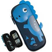 Dinosaur Embossed Hardtop 3D Pencil Case - Only £8.49!
